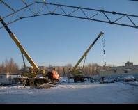 Строительство крытого катка